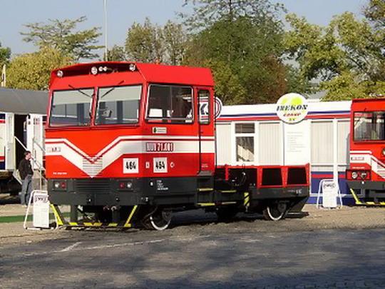MUV 71.001  Sokolovské uhelné a.s. na MSV Brno 2003 © CZ LOKO,a.s.