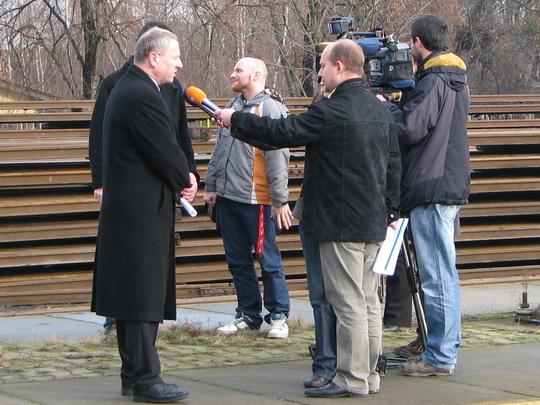 Ing. Komárek a TV Prima © PhDr. Zbyněk Zlinský