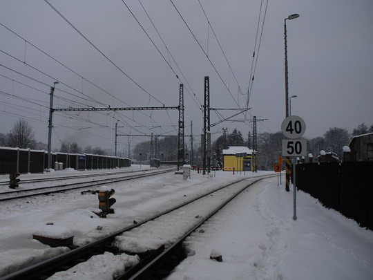 Začátek trati v Zábřěhu na Moravě © Radek Hořínek