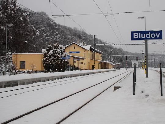 Nová podoba stanice Bludov © Radek Hořínek