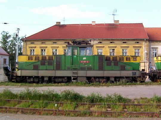 """První 1,5 kV """"žehlička"""" ve šturcu táborského nádraží © PhDr. Zbyněk Zlinský"""