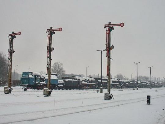 Wolsztyn - zhlaví stanice směrem k výtopně © Jiří Slavíček