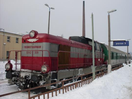 Nysa - SA 134-011 po příjezdu z Opole © Jiří Slavíček