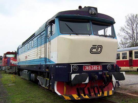 749.249-9 na liberecké výstavě vozidel © PhDr. Zbyněk Zlinský