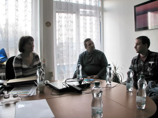 Úvodní povídání - paní Kaněvová, Milan a Staňa © PhDr. Zbyněk Zlinský