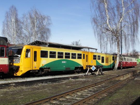 23.02.2008 - PP Šumperk: soužití 814.009-7/914.009-6 a 831.183-9 © PhDr. Zbyněk Zlinský