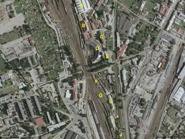 Hlavní a staré depo PJ Olomouc na fotomapě; zdroj: www.mapy.cz - ZOBRAZ!