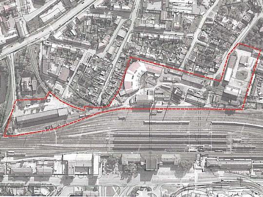 Areál budoucího železničního muzea v Olomouci; zdroj: nok.webnode.cz - ZOBRAZ!