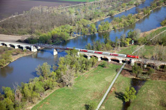zeleznicny most Devinska - Marchegg