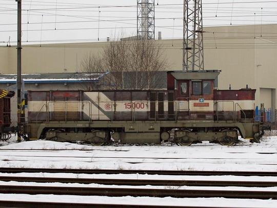 731.001-4 při posunu na jihlavském nádraží © Jiří Řechka