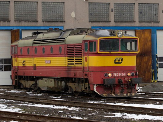 750.144-8 v PJ Havlíčkův Brod © Jiří Řechka