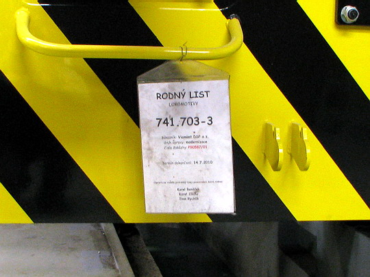 Lokomotiva 741.703-3 pro Viamont DSP bude hotova v polovině roku © PhDr. Zbyněk Zlinský