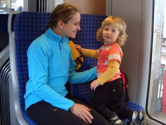 10.05.2010 - spokojené dítko s maminkou v Desiru © Veronika Kluková