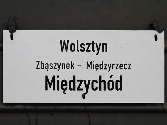 Směrová tabule zvláštního vlaku © Jan Guzik