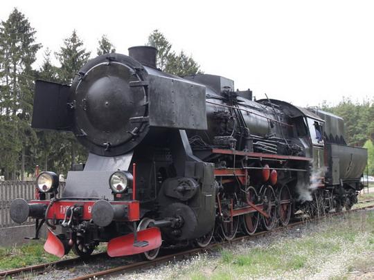 Ty2-953 ve stanici Łowyń © Jan Guzik