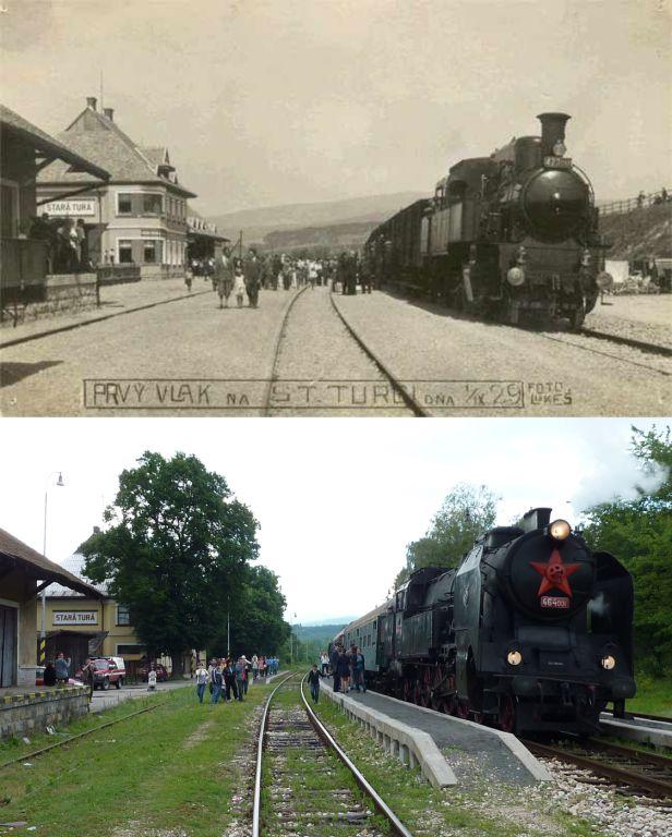 Rovnaké miesto, rovnaký pohľad, viac ako 80 ročný rozdiel..., autor: Jaro (rarach)