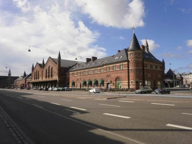 Kodaň hlavní nádraží, 18.7.2010 © Jiří Mazal
