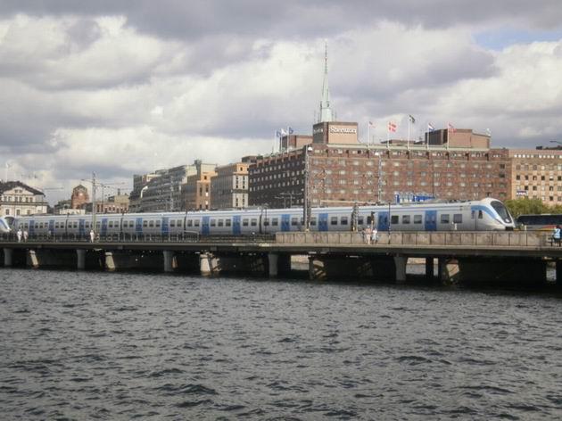 Most před Stockholm C, ř.X60, 20.7.2010 © Jiří Mazal