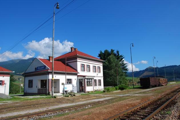 Výpravná budova v ŽST Telgárt. © Ivan Wlachovský