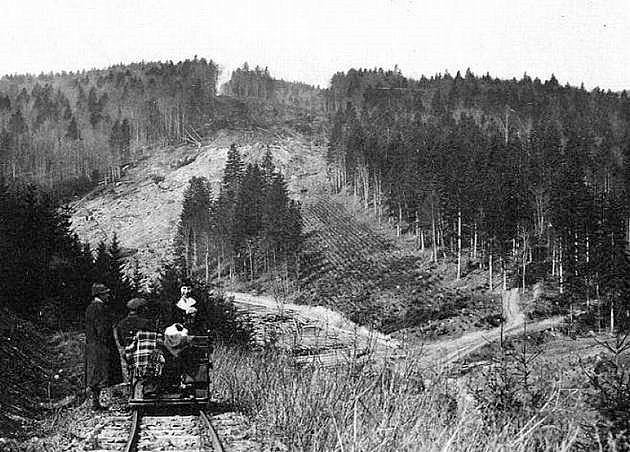 Drezina na trati. © Zbierka Petr Joachymstál