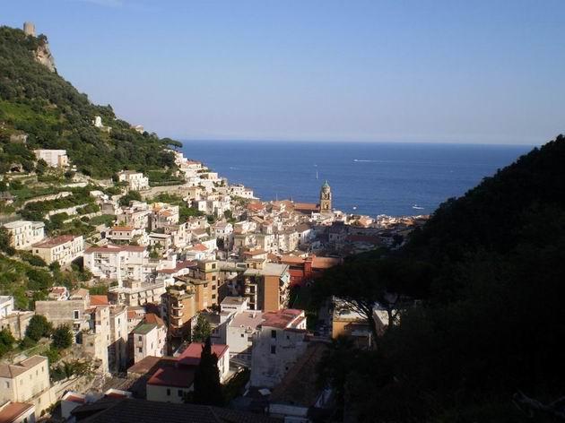 Amalfi jako na dlani…. 10.7.2010 © Jan Přikryl