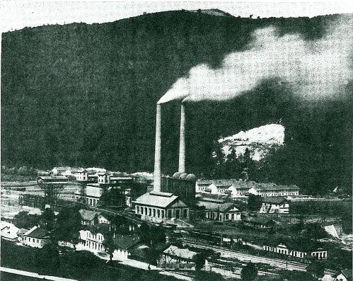 Celkový pohled na nové železárny
