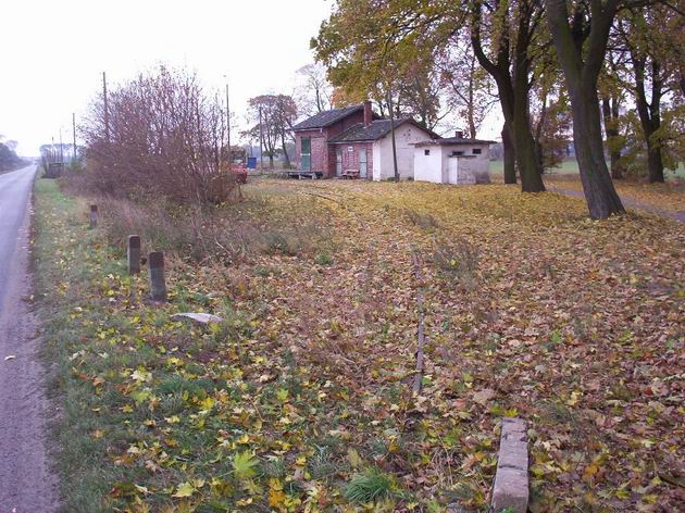 Konečná stanice Wielichowo, 24.10.2003 © Jiří Mazal