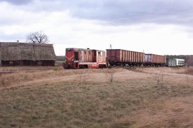 Zvláštní nákladní vlak Zbiersk-Turek, 6.12.2003 © Jiří Mazal