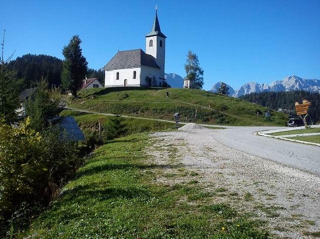 10.9.2011. Kostel v osadě Sveti Duh © Rastislav Štangl