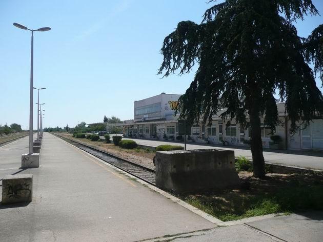 Zadar: na nádraží se dnes nakonec neukáže vůbec žádný vlak © Tomáš Kraus, 21.8.2012