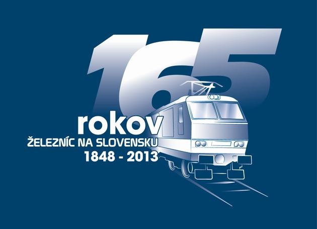 Logo, ktoré bude sprevádza� rok 2013 na slovenských �elezniciach.