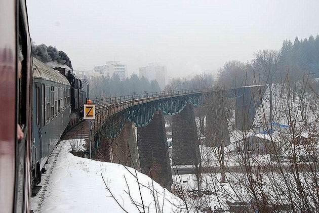 Handlovský viadukt.