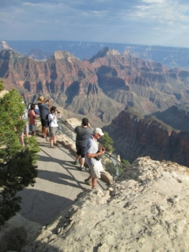 24.6.2015- Grand Canyon, NV- North Rim- vyhliadka na kaňón rieky Colorado © Juraj Földes