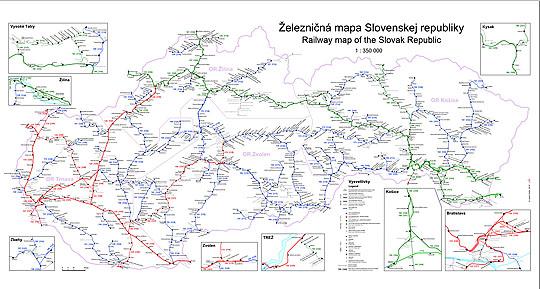 Slovenske Zeleznice Na Stenu Vlaky Net
