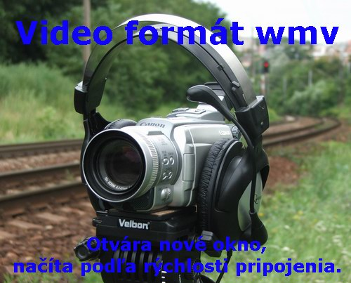 Video, prechod vlaku okolo zastávky Milochov © Ivan Wlachovský