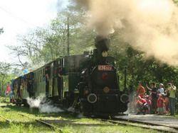 Detská železnička povezie po prvý krát do letného kina