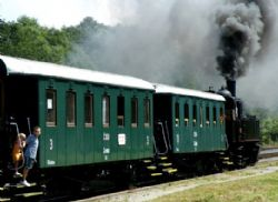 Parným vlakom na otvorenie sezóny Čiernohronskej železnice