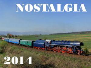 Kalendár nostalgických jázd ŽSR na rok 2014